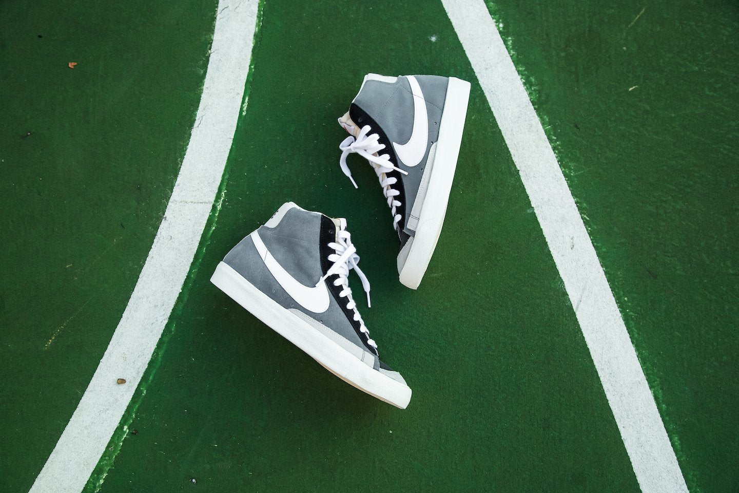 Nike Blazer Mid '77 VNTG WE Suede - Cool Grey/Black/Summit White #CI1167-001-Preorder Item-Navy Selected Shop