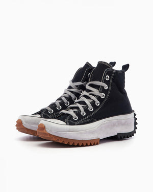 "Converse Run Star Hike Hi ""Smoked Canvas"" - Black Smoke In #168297C-Preorder Item-Navy Selected Shop"