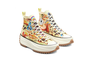 "Converse Run Star Hike Hi ""Twisted Resort"" - Tender Yellow/Egret #167895C-Preorder Item-Navy Selected Shop"