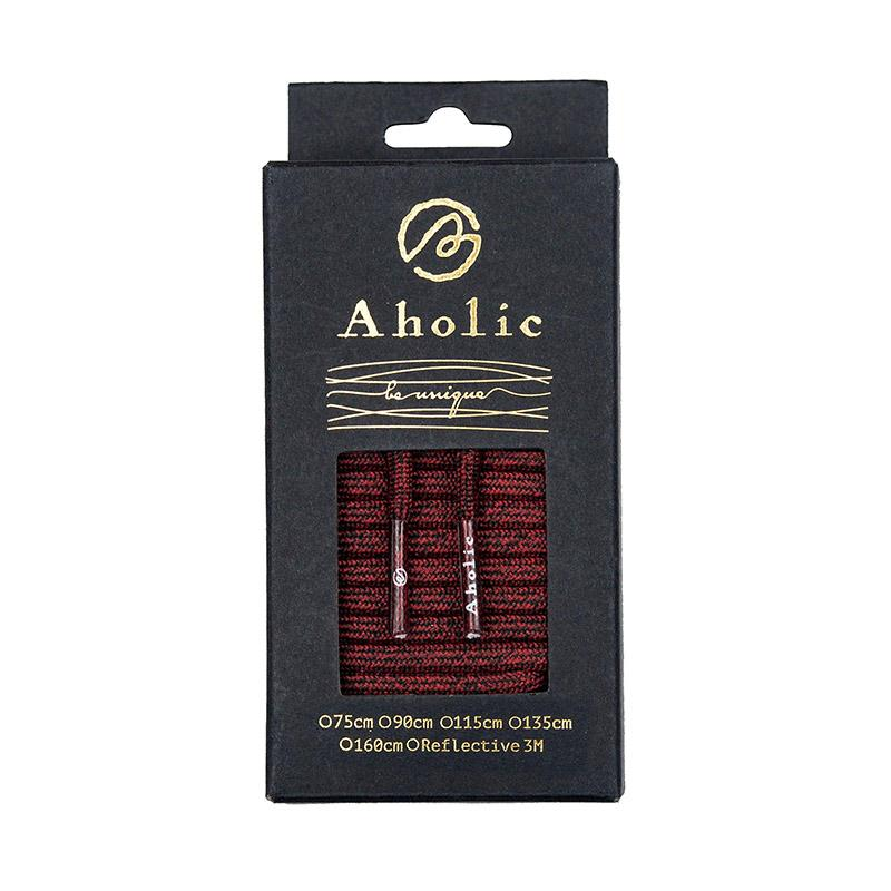 Aholic Multi-Color Shoelaces (迷彩混色鞋帶) - Red Camo (紅迷彩)-Shoelaces-Navy Selected Shop