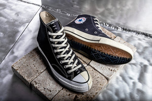 "Slam Jam x Converse Chuck Taylor 70 Hi ""Reconstructured"" - Black/Almost Black/Egret #164555C-Preorder Item-Navy Selected Shop"
