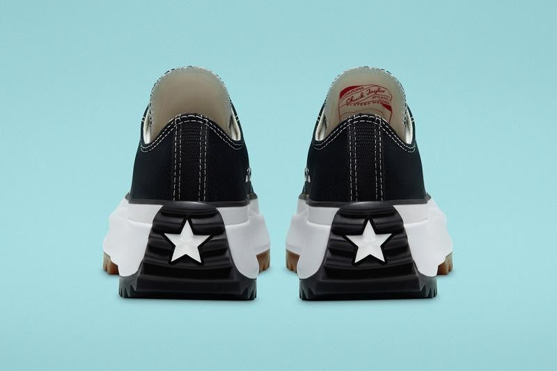 Converse Run Star Hike OX - Black/White/Gum #168816C-Preorder Item-Navy Selected Shop
