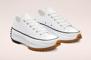 Converse Run Star Hike OX - White/Black/Gum #168817C-Preorder Item-Navy Selected Shop