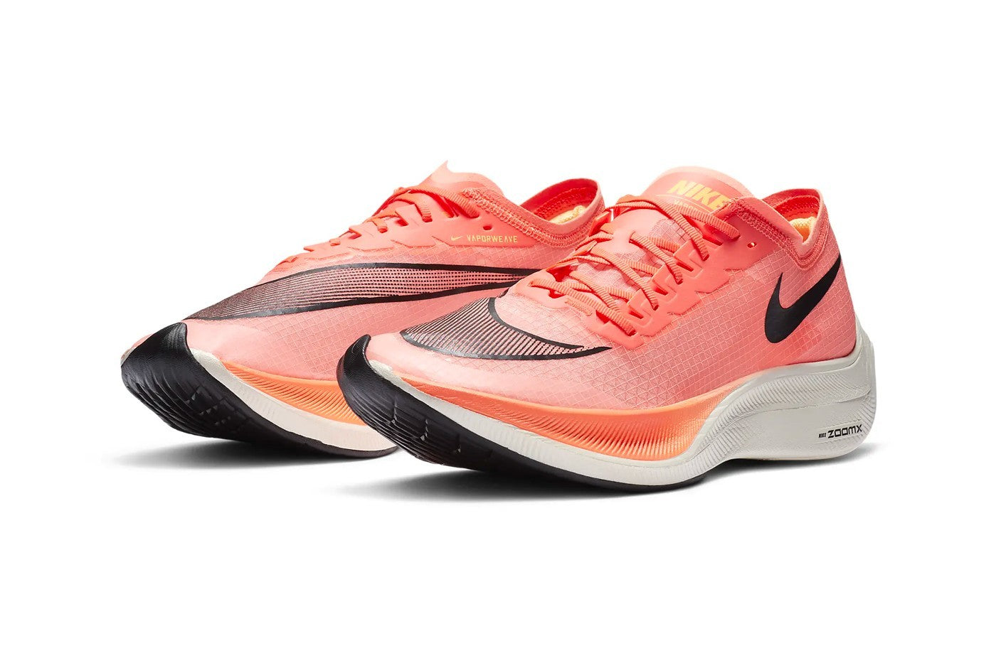 Nike ZoomX Vaporfly Next% - Bright Mango/Citron Pulse/Black/Blackened Blue #AO4568-800-Preorder Item-Navy Selected Shop