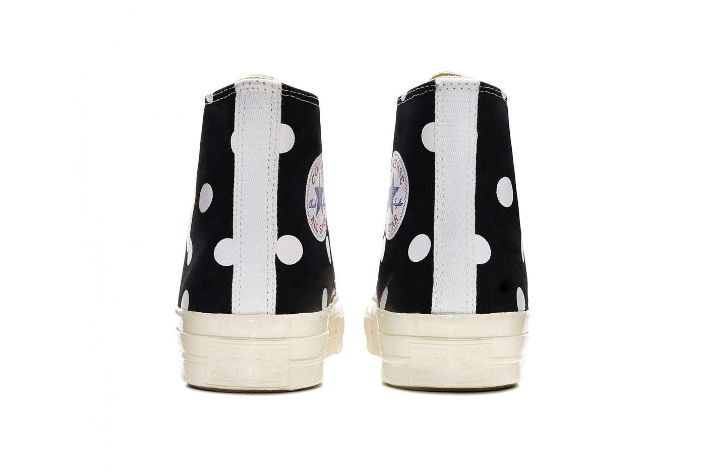 Play Comme des Garçons x Converse Polka Dot Red Heart Chuck Taylor All Star '70 High - Black #157250C-Preorder Item-Navy Selected Shop