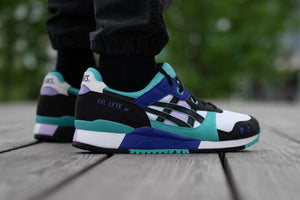 Asics Gel Lyte III OG - White/Techno Cyan #1201A051-101-Preorder Item-Navy Selected Shop