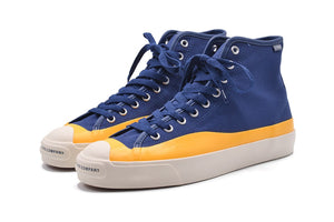 Pop Trading Company x Converse Jack Purcell Pro HI Top - Navy/Citrus #169006C-Preorder Item-Navy Selected Shop