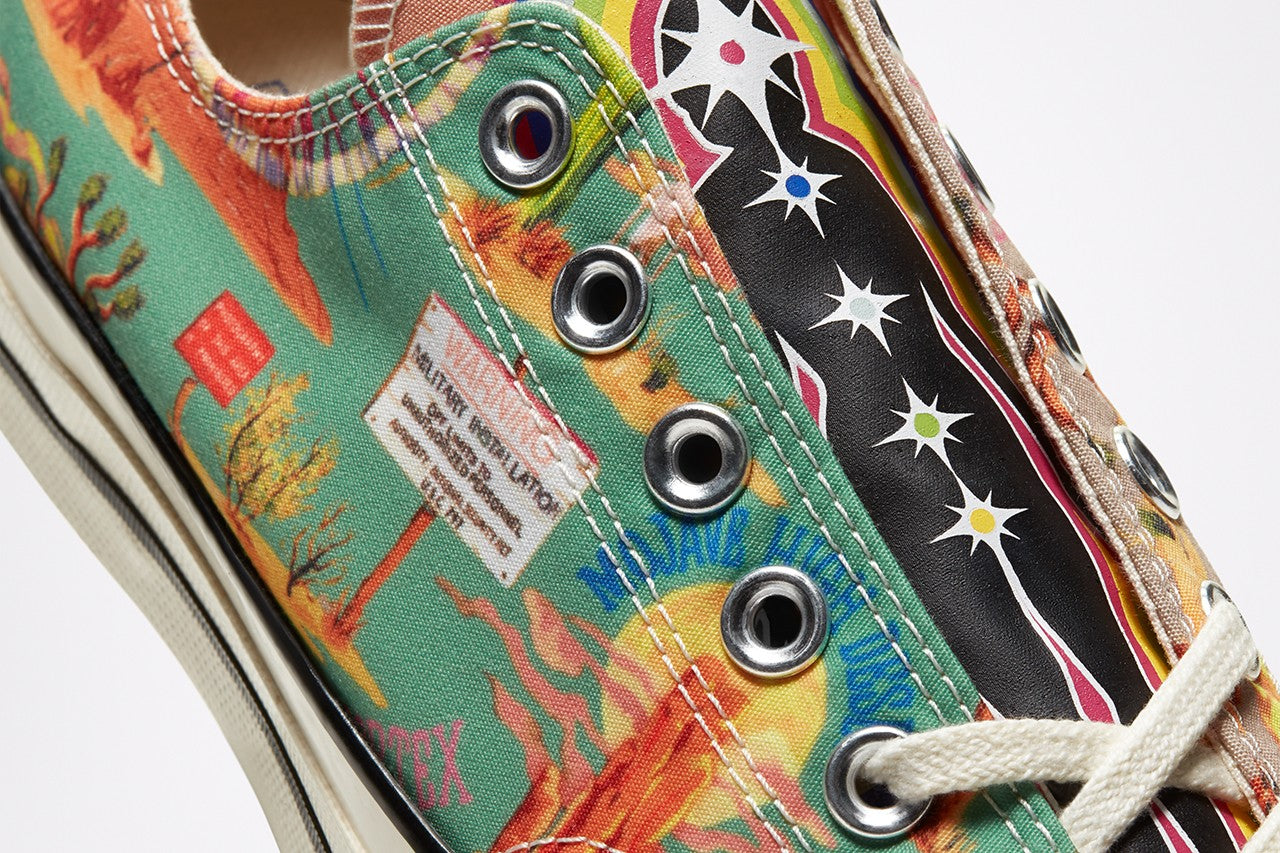 "Converse Chuck 70 OX ""Twisted Resort"" - Egret/Multi/Black #167762C-Preorder Item-Navy Selected Shop"