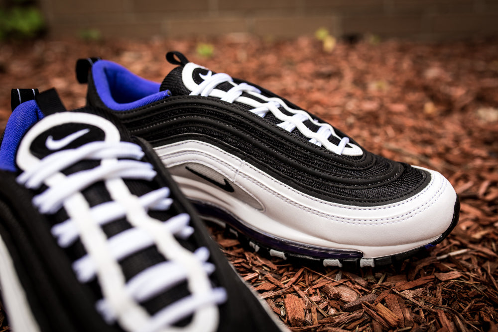 Nike Air Max 97 - White/Black/Persian Violet #921826-103-Preorder Item-Navy Selected Shop