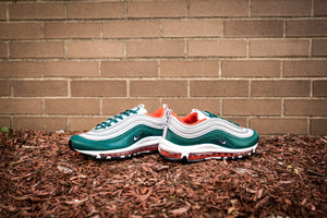Nike Air Max 97 - Rainforest/White/Team Orange/Black #921826-300-Preorder Item-Navy Selected Shop