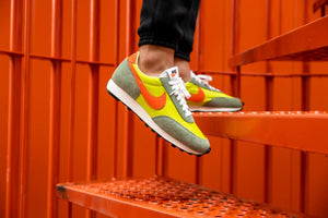 Nike Daybreak - Limelight/Electro Orange/Healing Jade #DB4635-300-Preorder Item-Navy Selected Shop