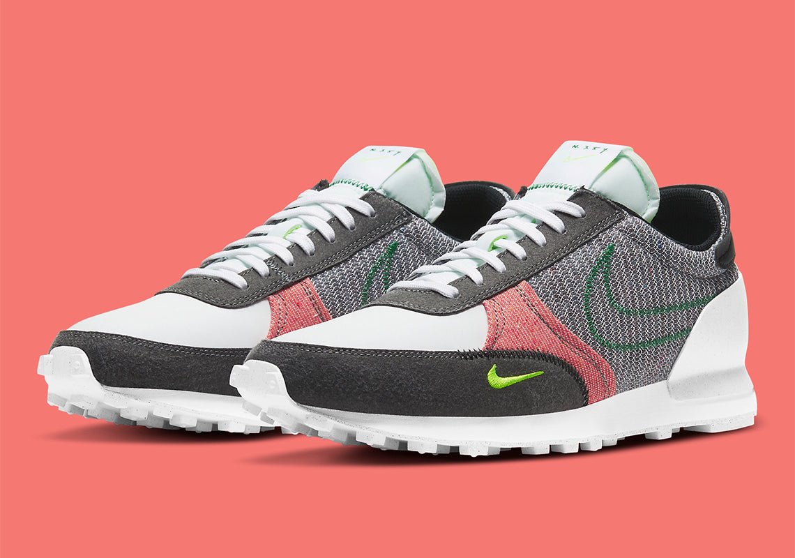 Nike Daybreak Type - Grey/Classic Green/Electric Green #DB4636-022-Preorder Item-Navy Selected Shop