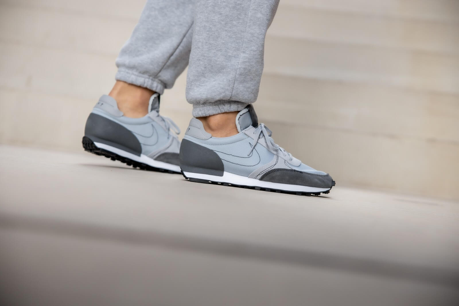 Nike Daybreak Type - Wolf Grey/Black/Iron Grey/White #CT2556-001-Preorder Item-Navy Selected Shop