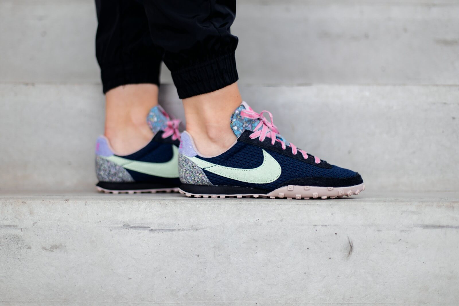 Nike Waffle Racer - Midnight Navy/Vapor Green/Black #DA4656-400-Preorder Item-Navy Selected Shop