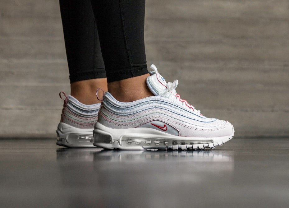 Nike WMNS Air Max 97 SE - White/White #AQ4137-100-Preorder Item-Navy Selected Shop