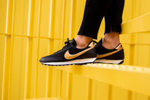 Nike WMNS Daybreak - Black/Metallic Gold/White #DC9213-001-Preorder Item-Navy Selected Shop