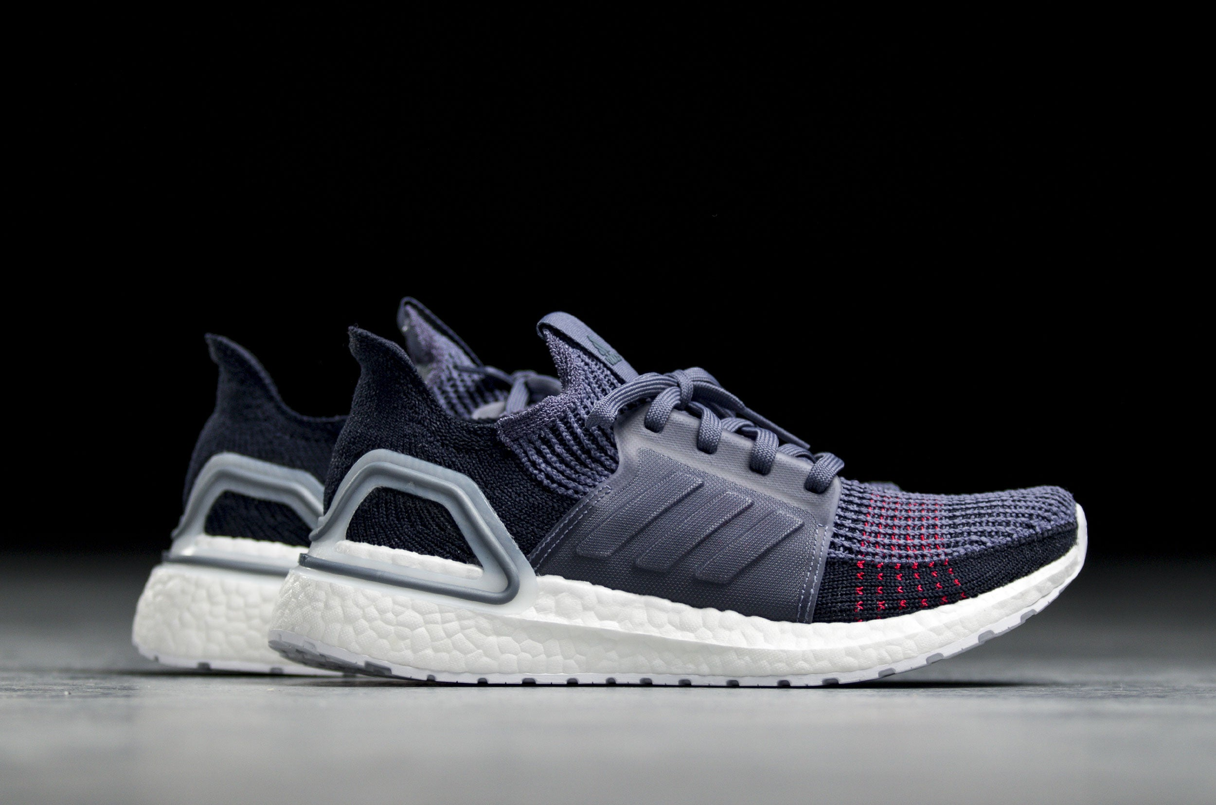 adidas WMNS Ultra Boost 19 - Raw Indigo/Shock Red #D96863-Preorder Item-Navy Selected Shop