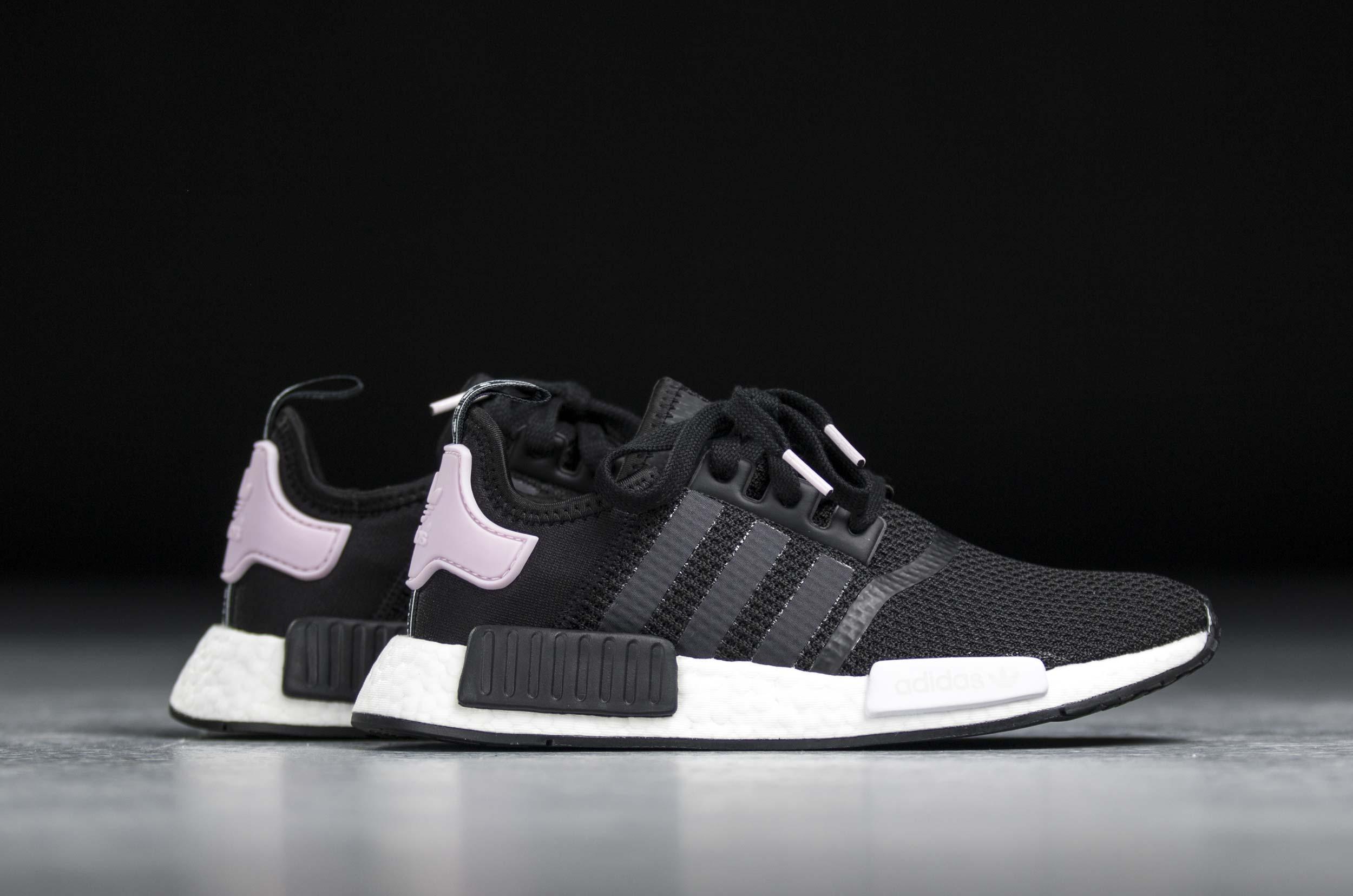 adidas WMNS NMD_R1 - Core Black/Footwear White/Clear Pink #B37649-Preorder Item-Navy Selected Shop