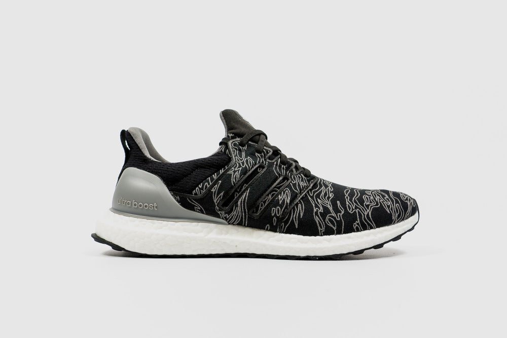 Undefeated x adidas Ultra Boost - Shift Grey Cinder Utility Black  BC0472- 8a5fcfd06265e