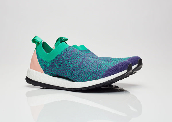 adidas by Stella McCartney WMNS Pure Boost X - Plum/Corall Green #BY1970-Preorder Item-Navy Selected Shop