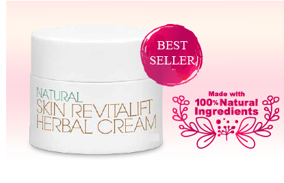 NEW Natural Skin Revitalift Herbal Cream   **Visible Results in 7 Days**
