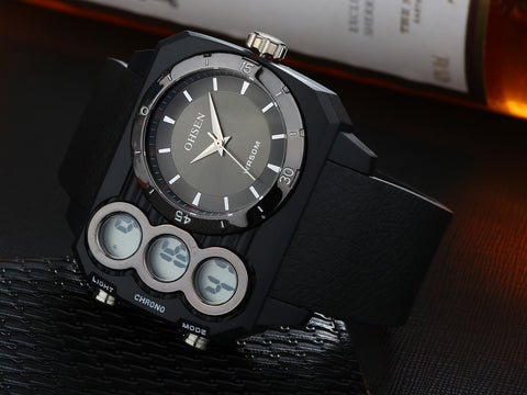 Men Watches Online Oversized Men Quartz Watches AD1503 Black Hot