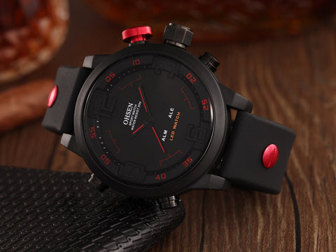 Silicone Men Wrist Watches AD2820R Online