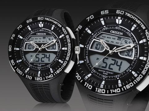 athletic watch men sport watches chronograph watch ohsen watch store athletic watch men sport watches chronograph watch ad2803