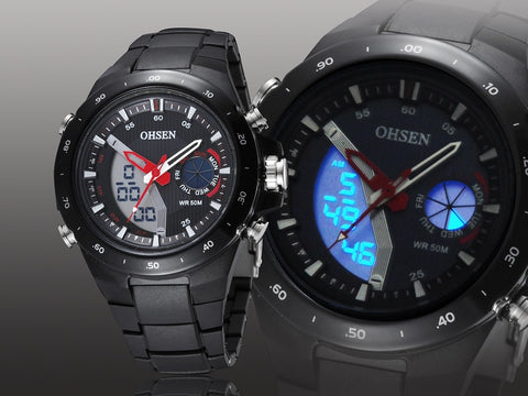 Hot Men's Watch Digital Black Sport Watches Online AD2802