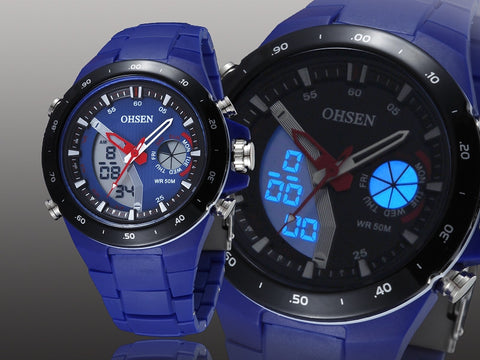 Digital Silicone Girl Quartz Watches AD2802