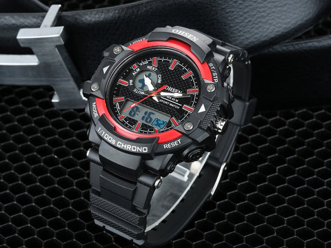 Watches For Men On Sale Digital Men Sport Watch AD1506 Red Hot