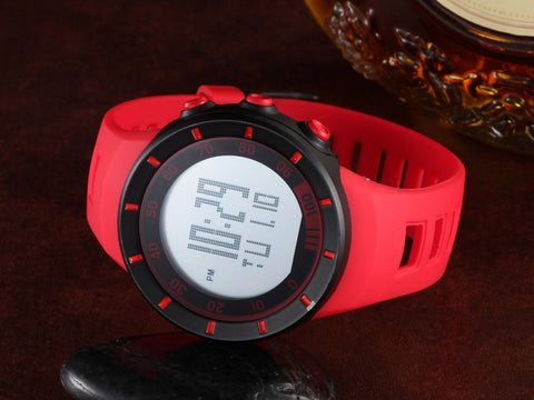 Men Wrist Watches Silicone Band