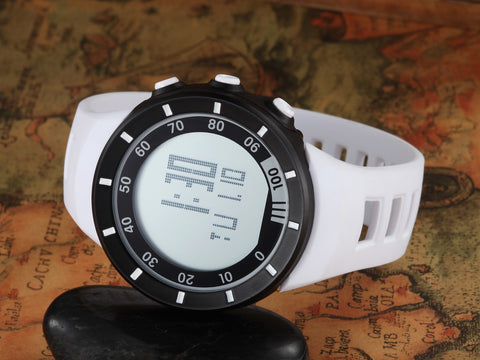 Silicone Band Men Sport Watches