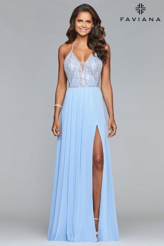 Prom Dress with Flats