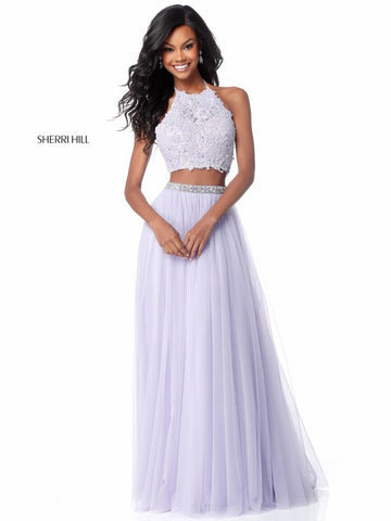 Prom 2018: Shoes & Sherri Hill Pastel Dresses | Zoey Bell
