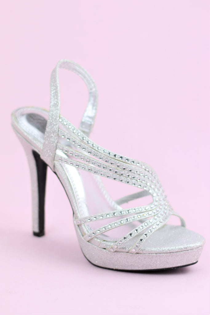Prom Shoes Silver (Style 200,85)
