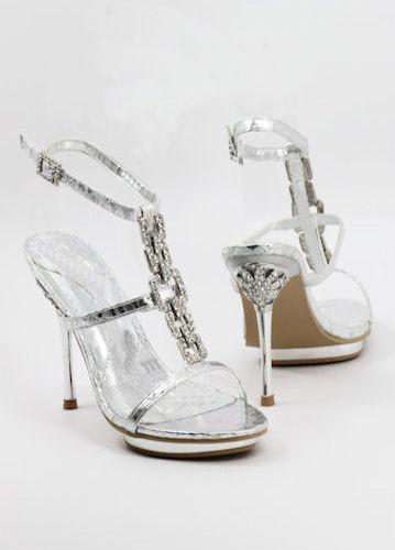 Prom Shoes Silver (Style 500-30)