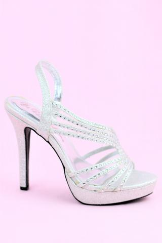 Prom Shoes Silver (Style 500-33)
