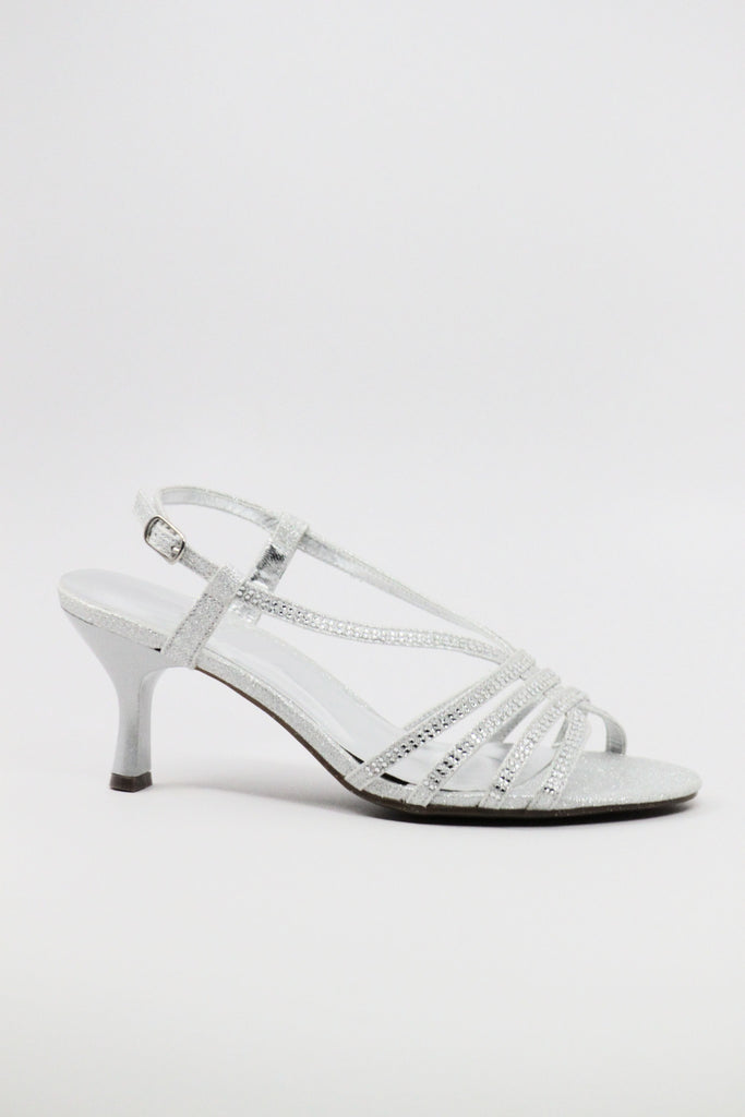 Homecoming Shoes Silver (Style 200-39)