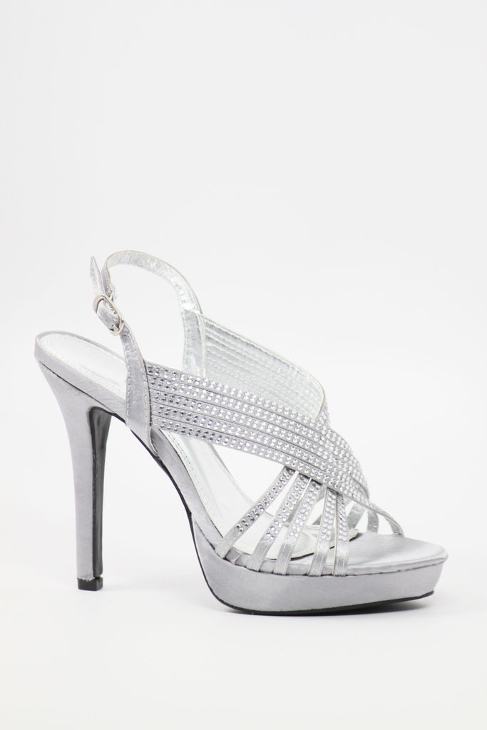 Homecoming Shoes Silver (Style 200-42)