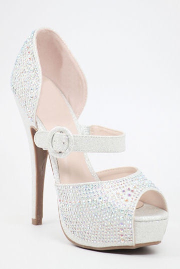 Prom Shoes Silver (Style 200-70)