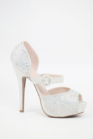 Homecoming Shoes Silver (Style 200-70)