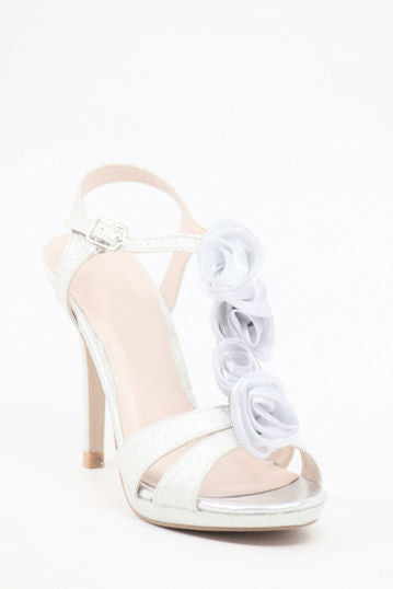 Homecoming Shoes Silver (Style 200-71)