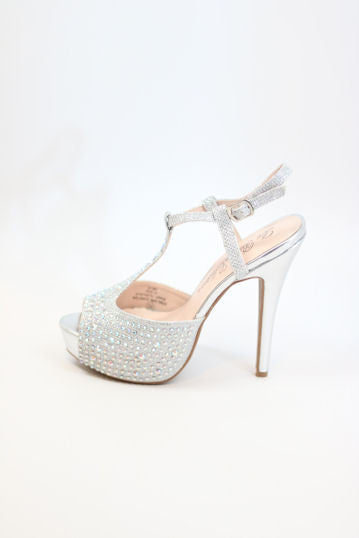 Prom Shoes Silver (Style 200-73)
