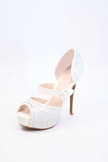 Prom Shoes White (Style 200-74)