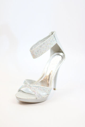 Prom Shoes Silver (Style 200-75)