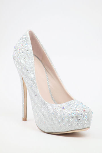Prom Shoes Silver (Style 200-77)