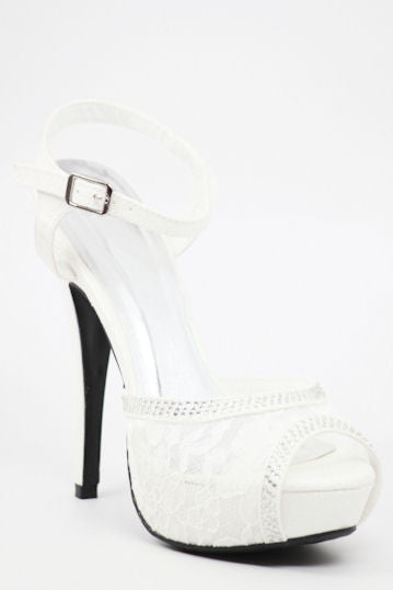 Prom Shoes White (Style 200-80)