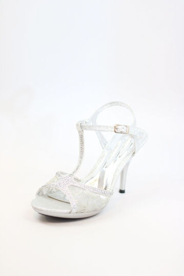 Prom Shoes Silver (Style 200-83)