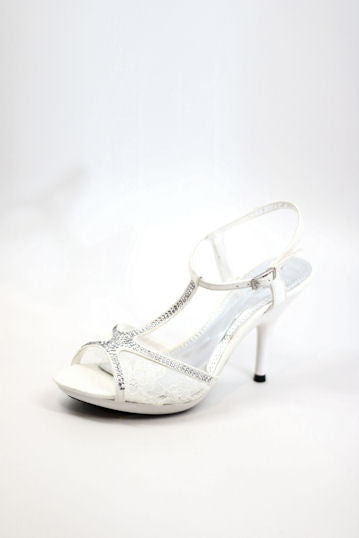 Prom Shoes White (Style 200-87)